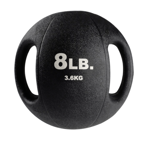 Body-Solid Dual Grip Medicine Balls 8 lbs