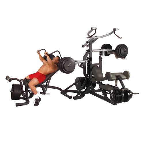 Body-Solid SBL460P4 Freeweight Leverage Gym