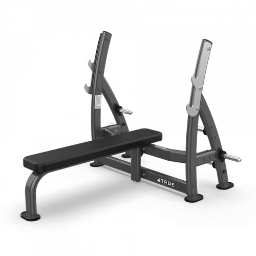 True XFW-7100 Supine Press Bench with Plate Holders