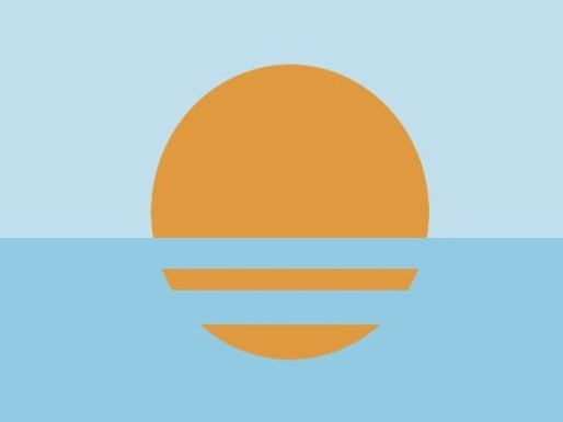 "Nathaniel Aymer: ""This flag symbolizes the motto ""Everything under the sun"" elegantly with the same refreshing color palette used with the City Of Coral Springs. It is very simple but very distinguishing."""