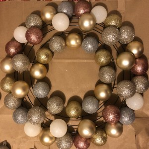 ornament wreath step 2