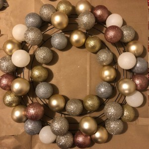 ornament wreath step 2