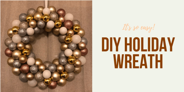 Diy Holiday Ornament Wreath For 8 Or Less Portland Living On The