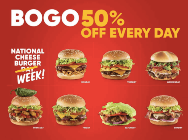 Red Robin National Cheeseburger Day