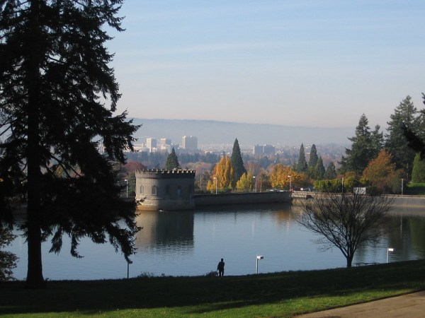 Portland picnic parks - mt tabor