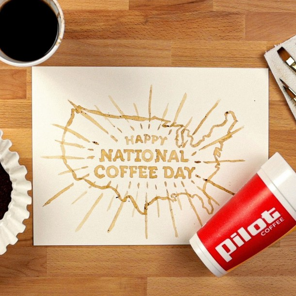 National Coffee Day Pilot Flying J