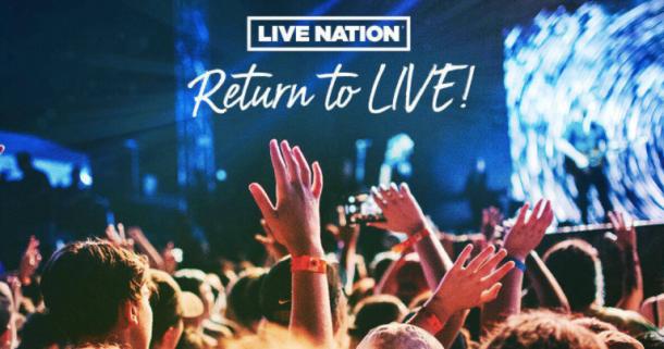 live nation ticket sale
