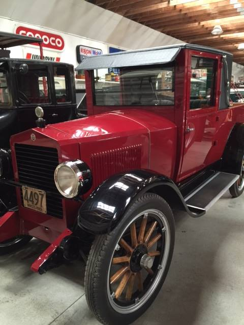 Rare Essex Truck at Bickford Collection Truck Museum in Yarmouth