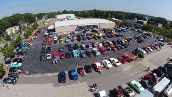 A drone's-eye-view of our 2015 show