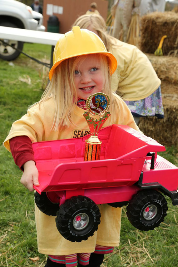 Third Place in the Tonka Truck competition but First Place in our hearts!