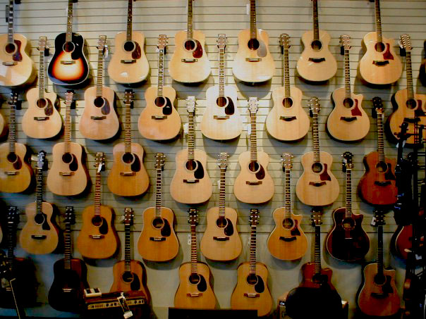 Martin Guitars in Portland