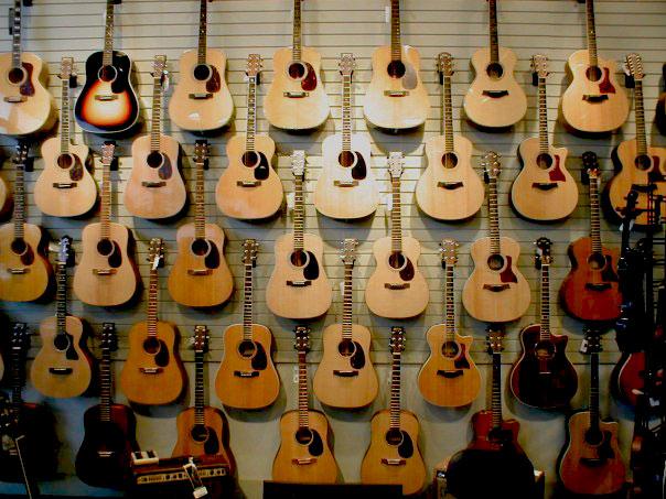Martin Guitars in Portland