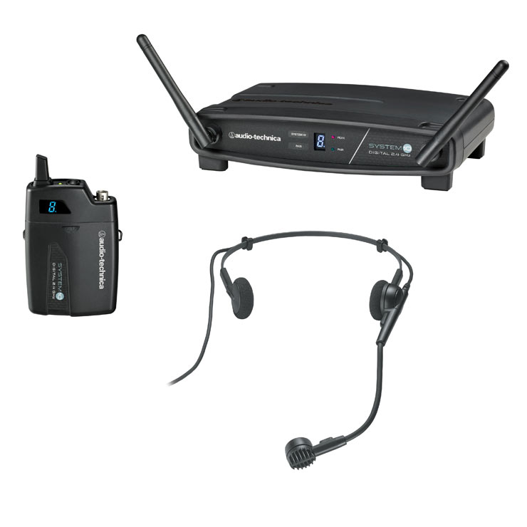 Audio Technica System 10 ATW 1101/L Digital Lavalier Wireless System