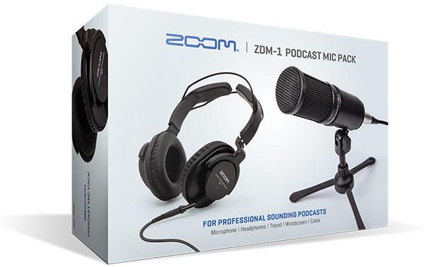 Zoom ZDM1 Podcast Pack