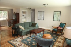 Front room is a Great Room meaning it shares the space with the kitchen. Perfect for families.
