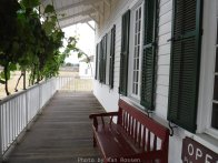 Front Porch on Chief Factors House
