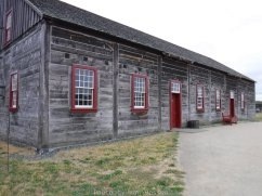 The only medical help that could be found was at fort Vancouver. The trade shop is no longer open to the public.