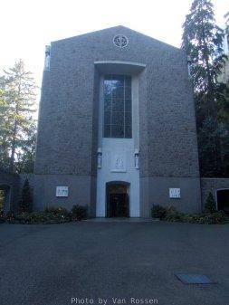 Grotto's Chapel of Mary.