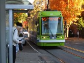 My Streetcar arrives and my first time to figure out how this all works.