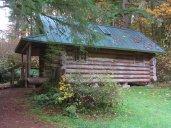 The third sleeping cabin.