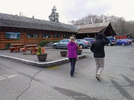After seeing the equipment and artifacts outside we head for the restaurant.