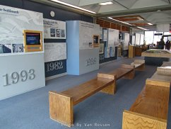 Main floor of the Visitor Center at Bonneville Dam.