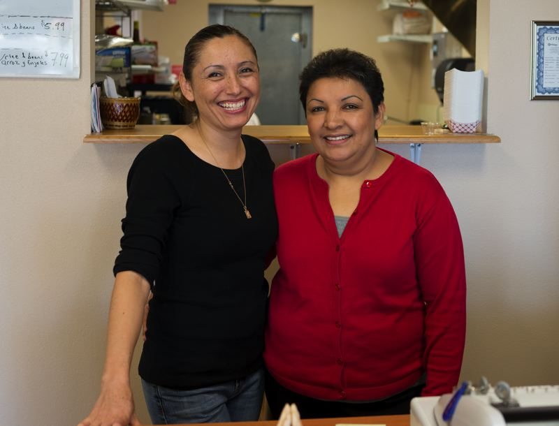 by: HILLSBORO TRIBUNE PHOTO: CHASE ALLGOOD - A Taste of Mexico is now open on Southwest Cornelius Pass Road in Hillsboro. Owner-operators are Carolina Tapia and Maria Calderon.