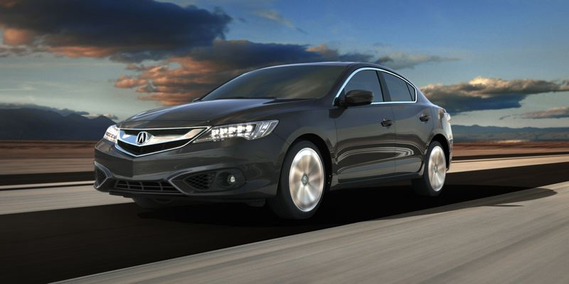 HONDA AMERICA INC. - The exterior of the 2016 Acura ILX has been restyled to be even sportier, especially the A-Spec version.