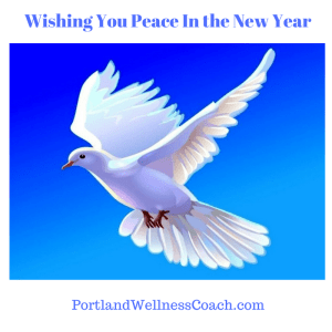 Wishing You Peace In the New Year
