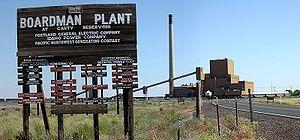 Boardman coal fired power plant