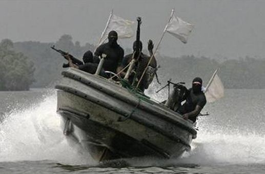 Somali Pirates Exchange Fire with Armed Guards on board