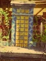 Detalhe em azulejos (Foto: Letícia Zat)