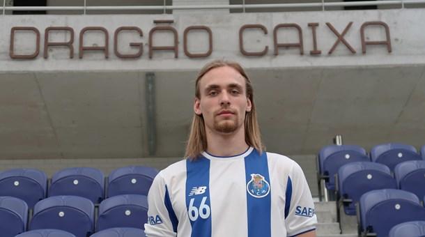 Aleksander Spende é o novo reforço do FC Porto vindo da Eslovénia