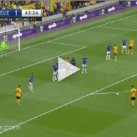 Rúben Neves marca golo formidável na sua estreia na Premier League