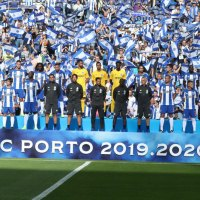 O 11 inicial do FC Porto frente ao Sporting de Braga