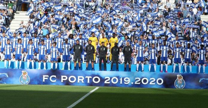 O 11 inicial do FC Porto contra o Sporting [Liga Nos]