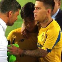 Sérgio Conceição irrita-se com Nakajima no final do jogo