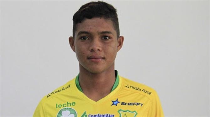 Promessa colombiana estará a caminho do FC Porto
