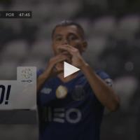 Jesus Corona abre o marcador no Estádio do Bessa