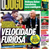 Capas dos jornais desportivos de 16-04-2021