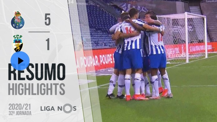 Resumo: FC Porto 5-1 Farense [Liga Nos]