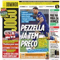 Capas jornais desportivos 13-06-2021