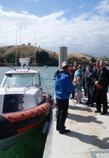 Dedication of the new boat