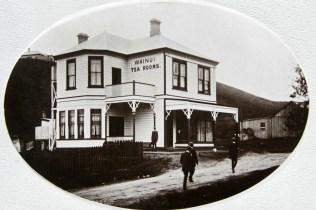 The Wainui tea rooms