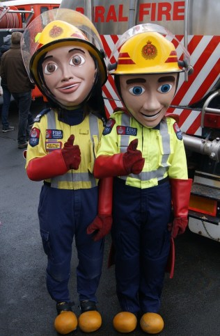 Fire service mascots