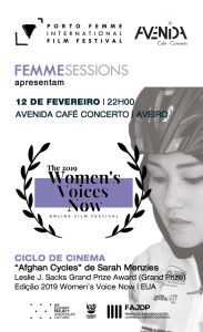 Session #11- February 12th | Extensão do WOMEN'S VOICE NOW Film Festival | EUA