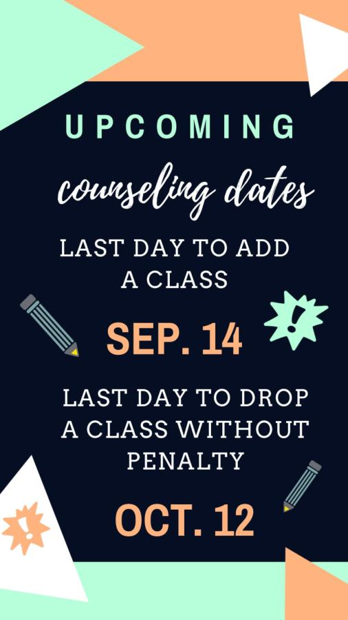 Important Counseling Dates