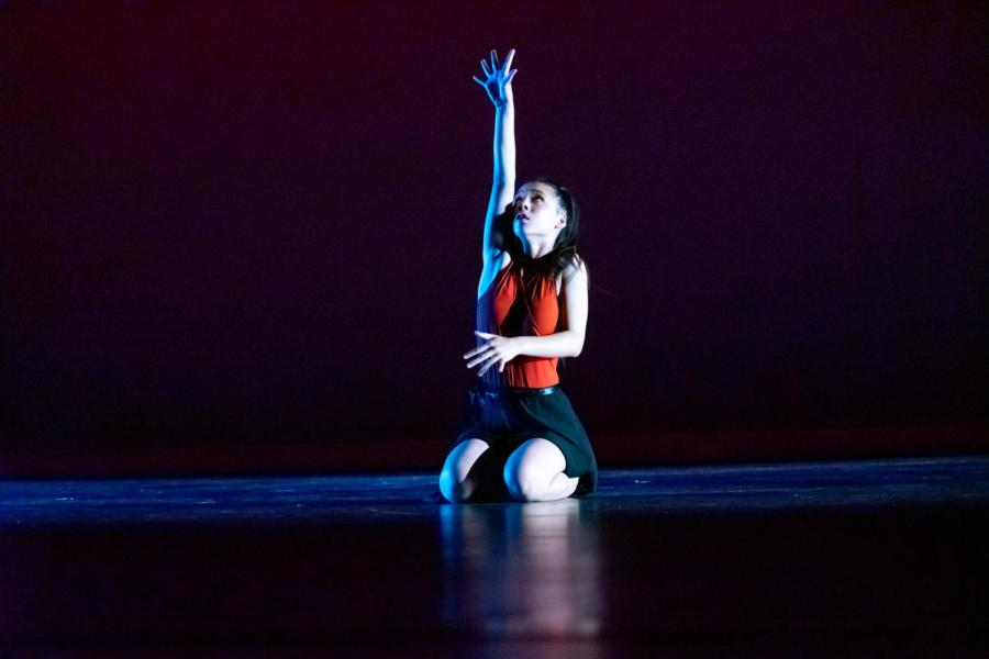 """""""Flannel and Frost"""" brought student's original choreography to the stage. Dancers showcased their talents through groups, duets and solos. Soloists include sophomore Chloe Le from Dance 2, and junior Jasmine Asami and freshman Sofia Topete from Dance Company."""