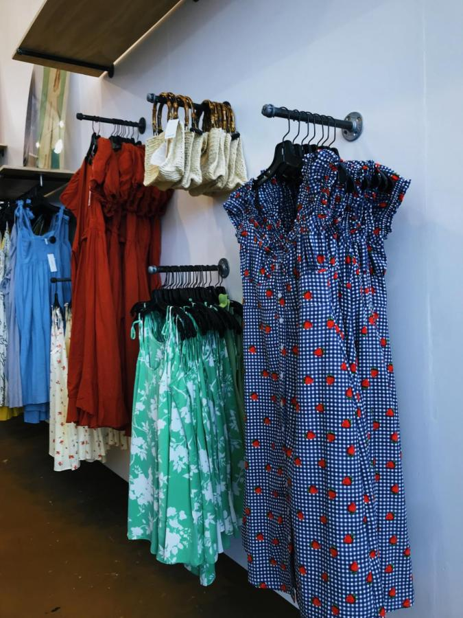 Sundresses are simple and easy to wear for any special occasion. Urban Outfitters currently has options for $60, while Forever 21 has a large variety for only $12. Sundresses can be worn casually with a pair of Vans or with a pair of heels for a special occasion.