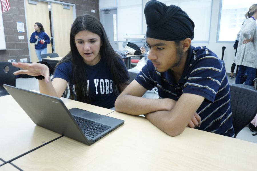 ASB students junior Ava Fakharpour and freshman Amitoj Singh weigh the detriments and benefits of changing tradition. The forum will open up more thoughts from the student body to aid in the final decision.